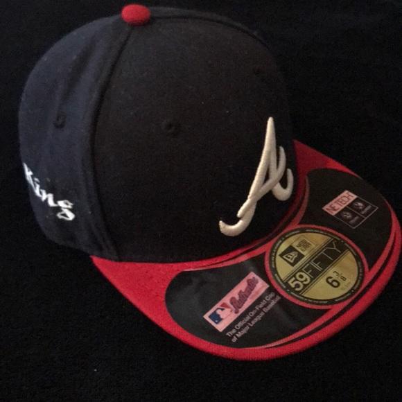 New Era Other - Atlanta Braves fitted NewEra hat